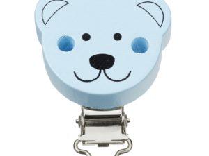 Scnulli-Clip Bär blau