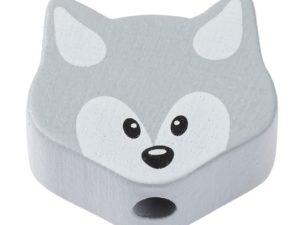 Perle Fuchs grau