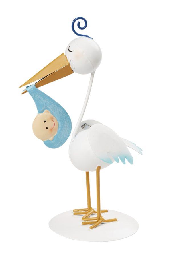 Storch blau